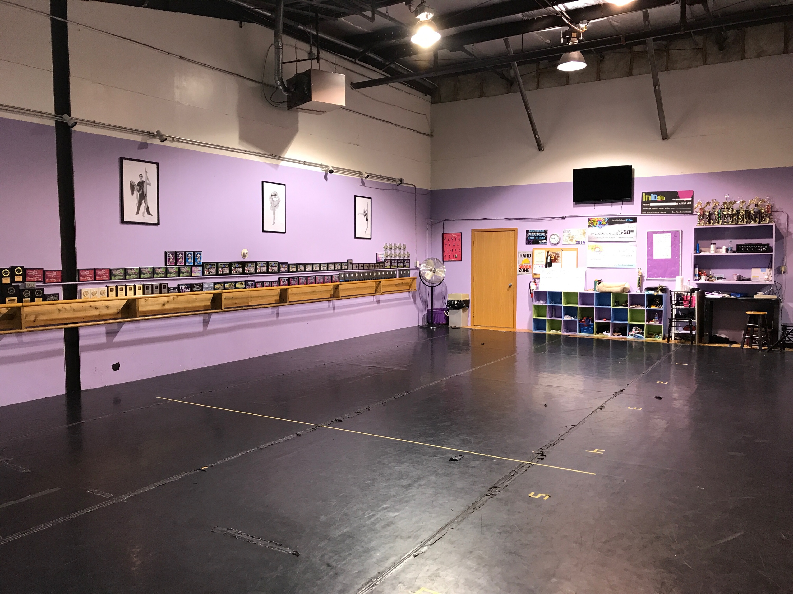BDC Des Moines Purple Studio (Second Image)